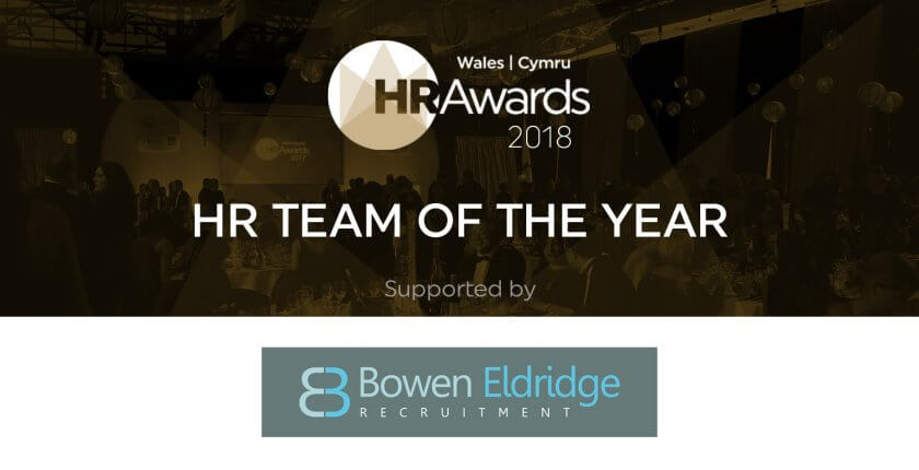 Bowen Eldridge supports HR Team of the Year Awards