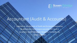 Candidate of the month Accountant