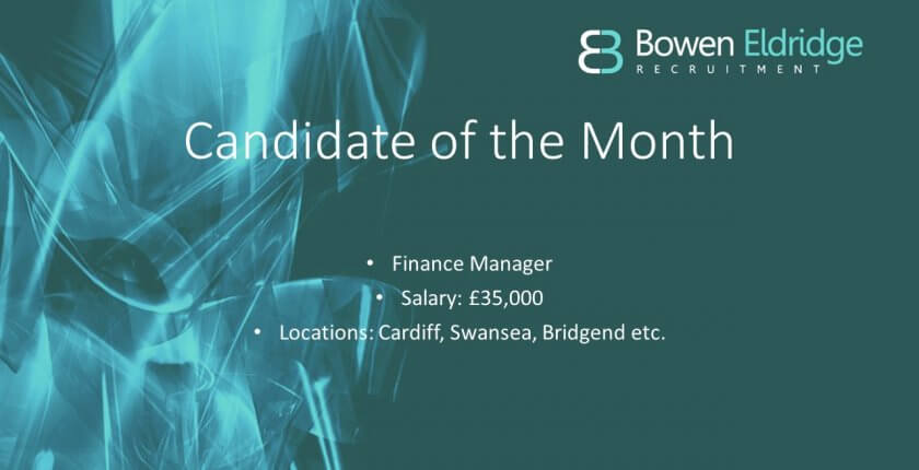 Finance Manager candidate south Wales Accountancy Recruitment Agency